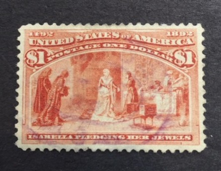 1893 $1 Isabella Pledgins Jewels