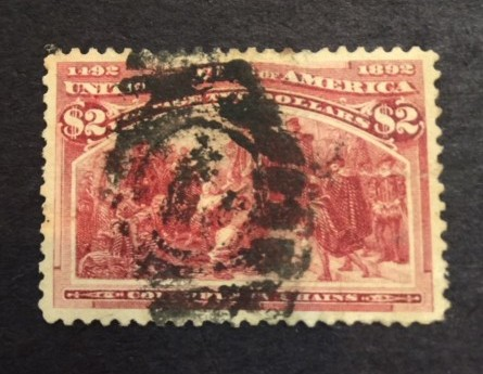 1893 $2 Columbus in Chains